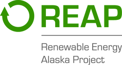 Renewable Energy Alaska Project (REAP) logo